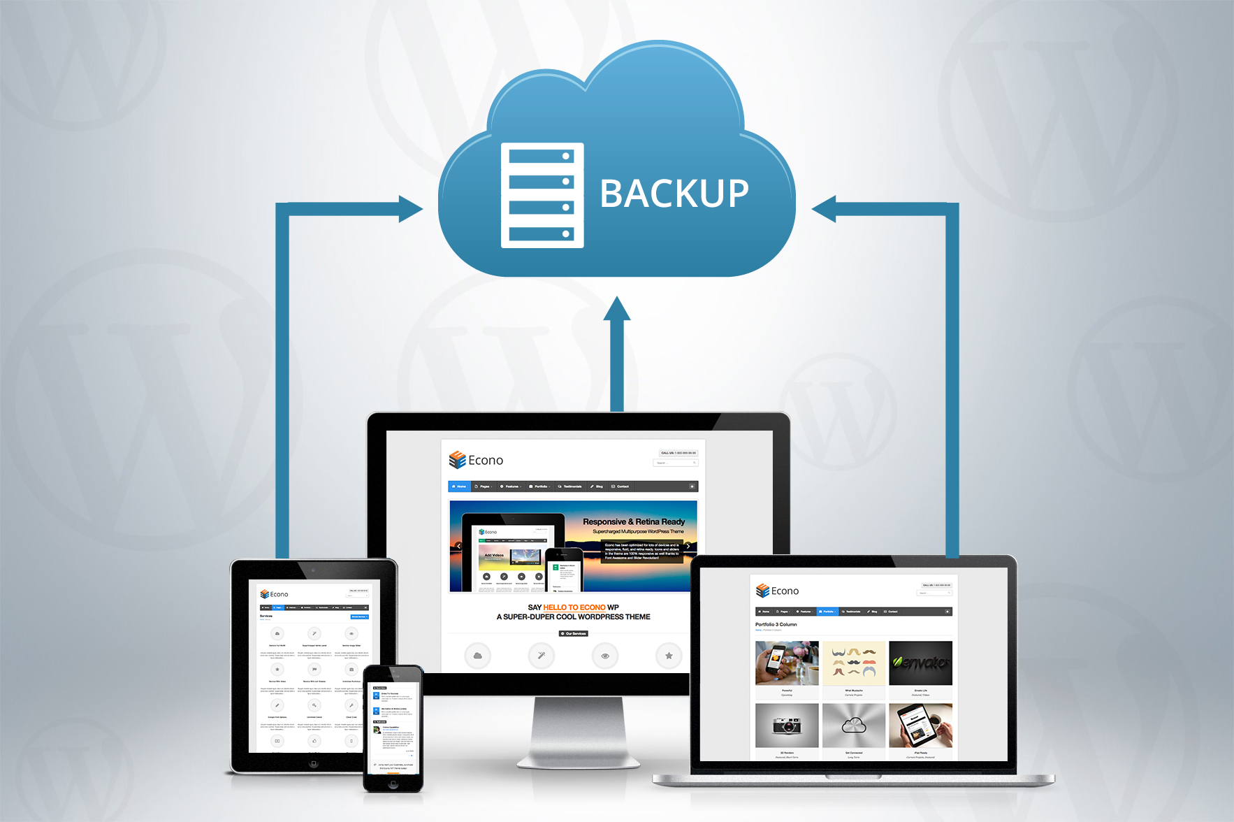 Wordpress auto-backup